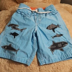 5t baby gap let's do lunch swimming trunks